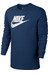 Nike Sportswear Top LS Shirt Men coastal blue/summit white
